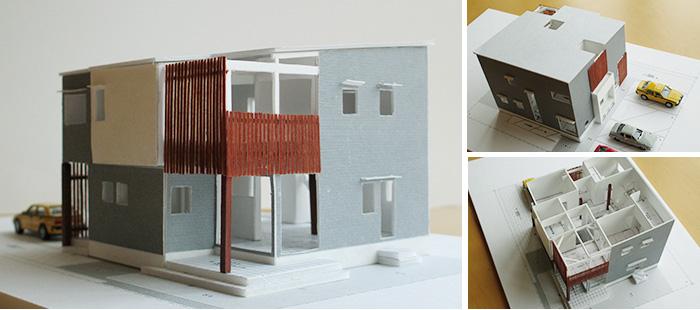 ○○THE BASE(えんざべーす)の家 - 模型写真