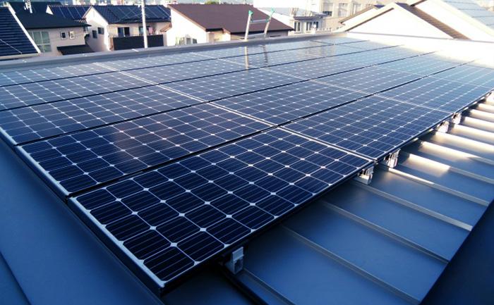 太陽光発電システム - 屋根