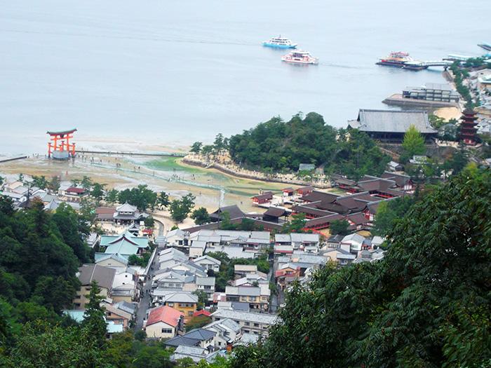 弥山からの厳島神社