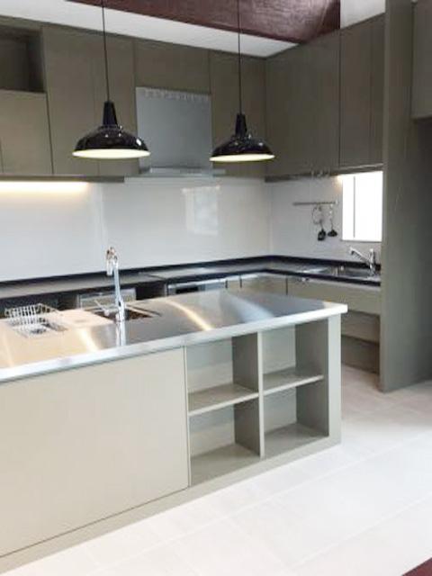 新築住宅「住まうギャラリー/K様邸」-アイランドキッチン