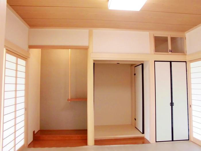 平屋の家 完成 - 和室