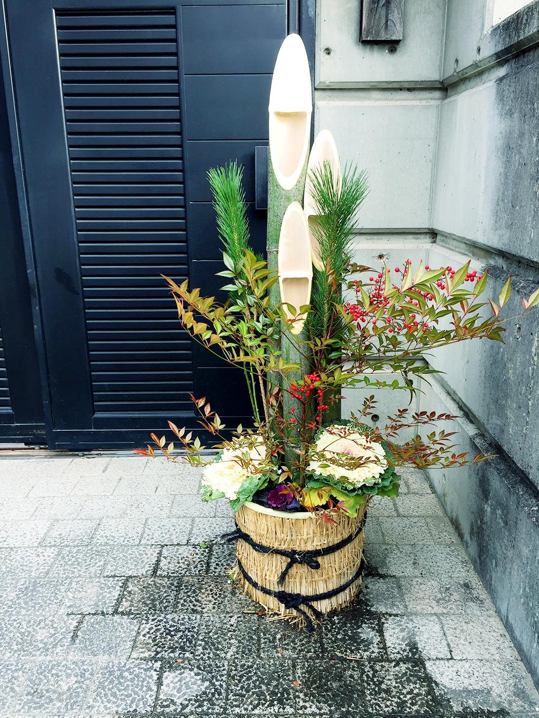 坂井工務店の年末年始 - 門松作成風景
