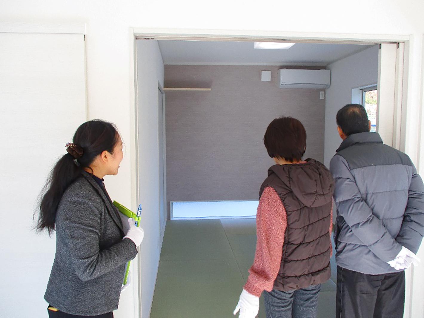 御礼 - 内覧会(坂出市青海町/2019.2.2-3)