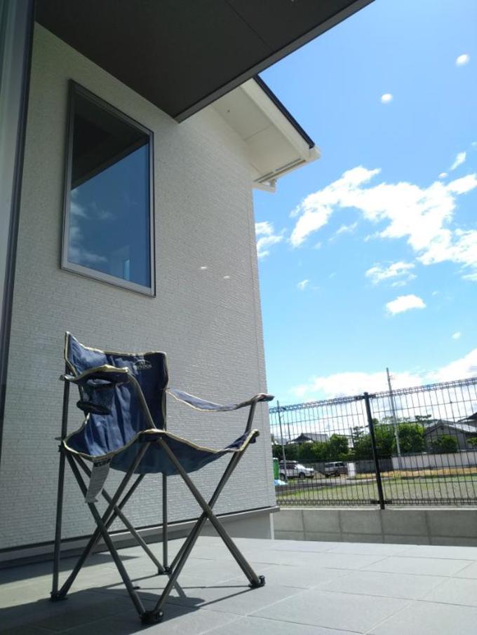 高松市三名町 完成見学会「リフレクティックスの家」の様子
