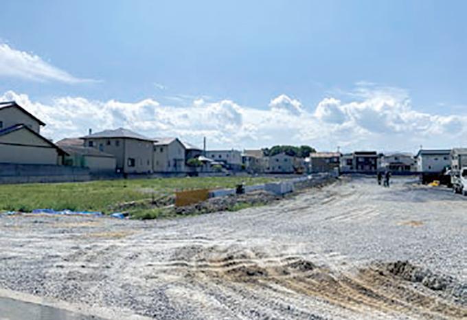 分譲地 ~高松市十川西町~ 「ICOI-まち 十川西」写真