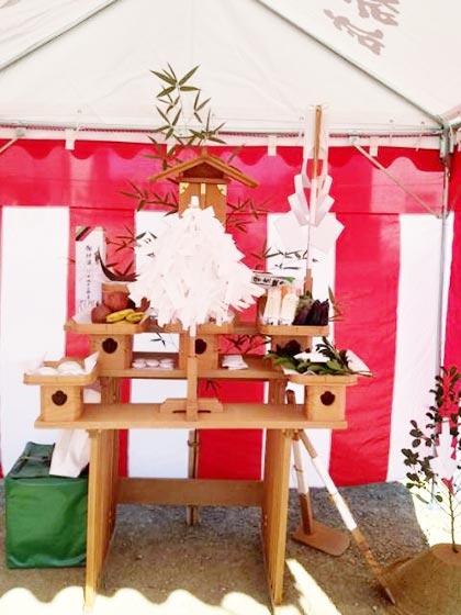 「出雲屋敷」の地鎮祭